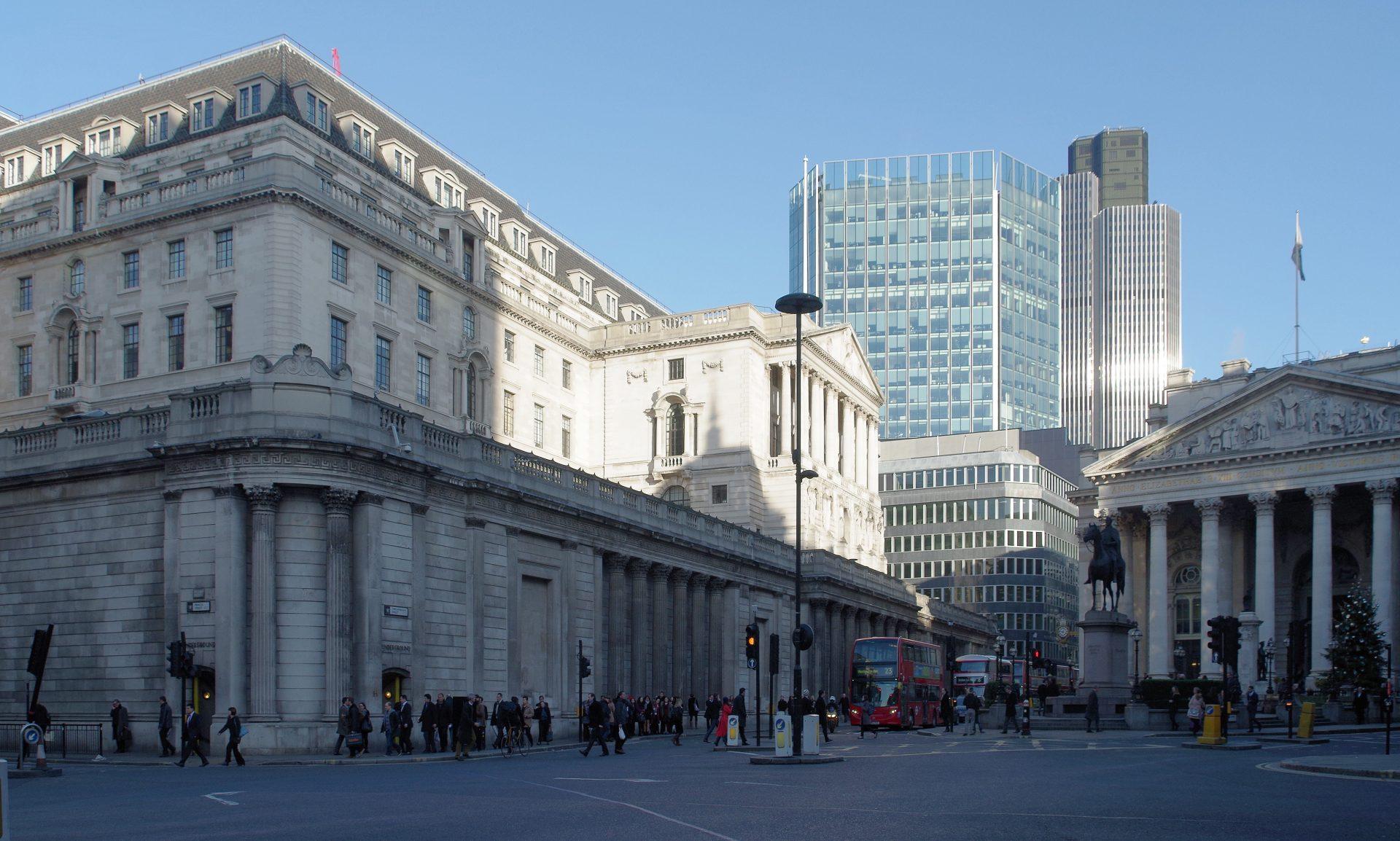 Bank of England Talks of Negative Interest Rates