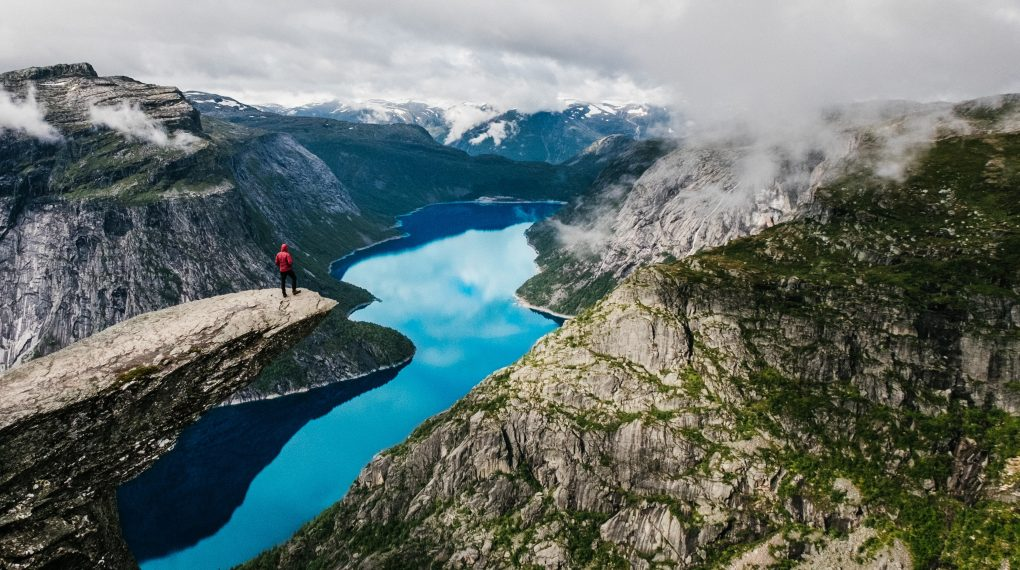Go hiking in norway